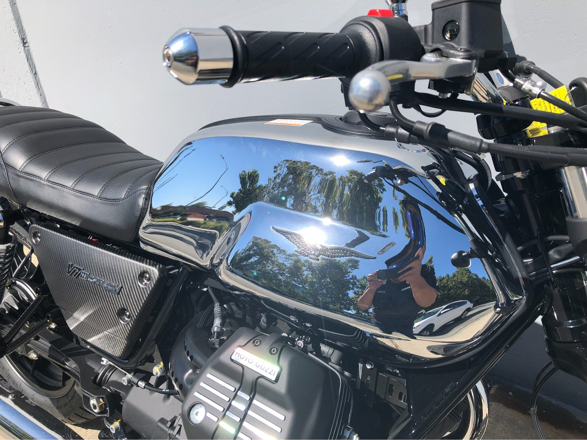 2018 Moto Guzzi V7 III Carbon Shine in San Jose, California