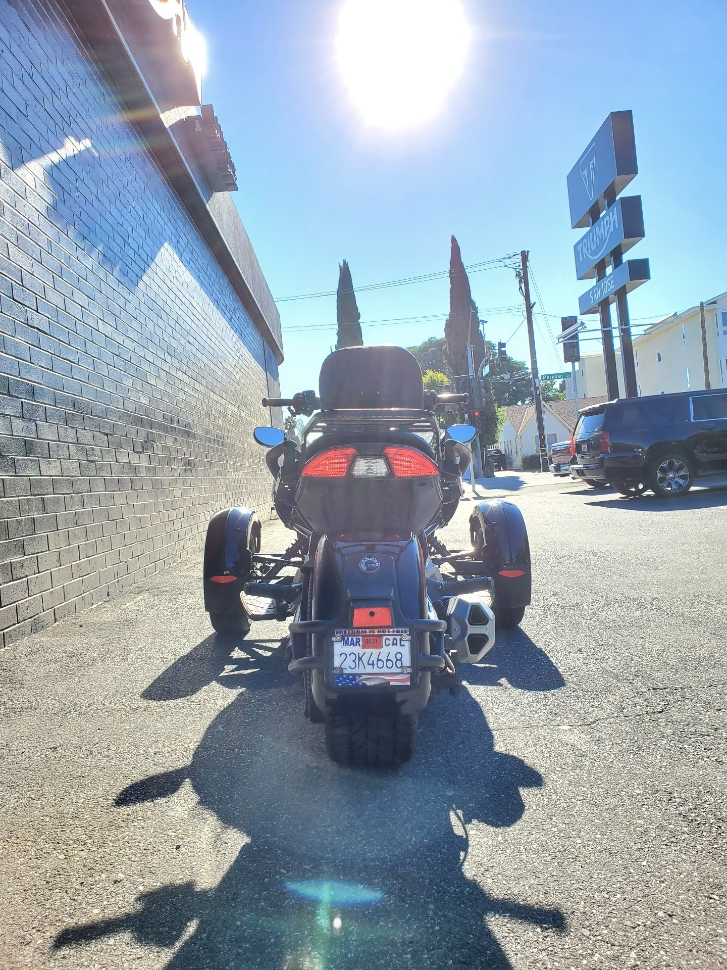 2016 Can-Am Spyder F3-S Special Series in San Jose, California - Photo 5