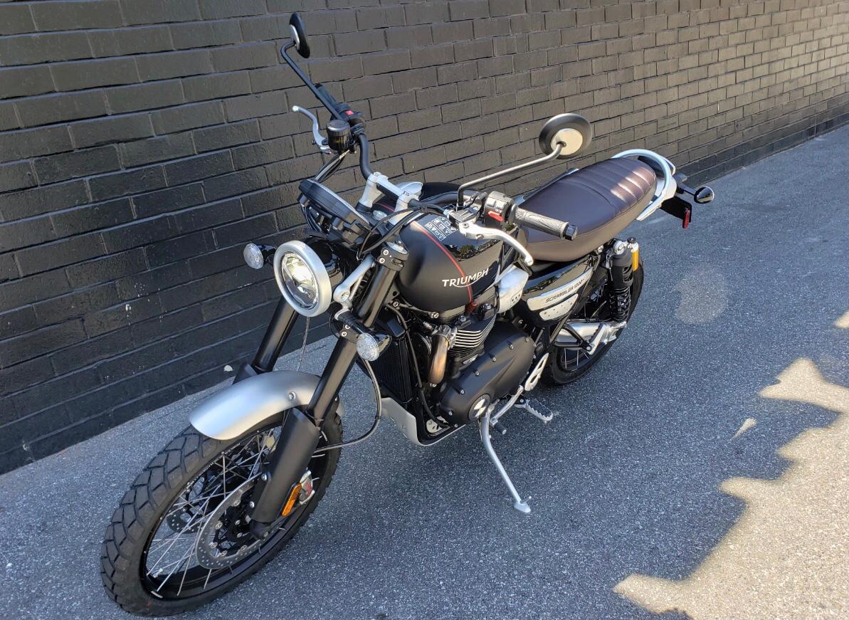 New 2020 Triumph Scrambler 1200 XC Motorcycles in San Jose, CA | Stock Number: TT0830