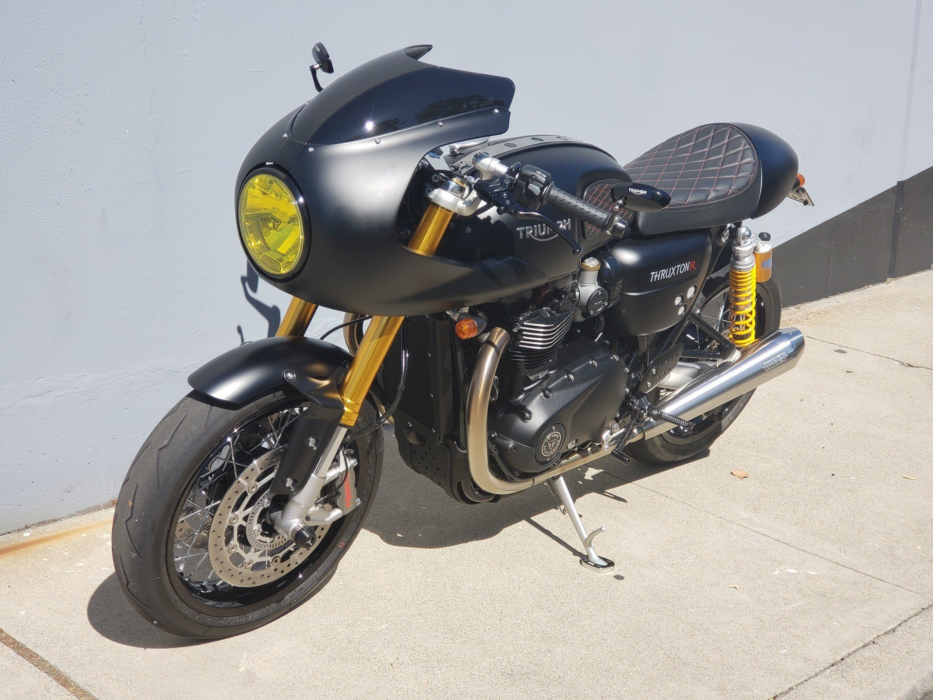 2017 Triumph Thruxton 1200 R in San Jose, California - Photo 4