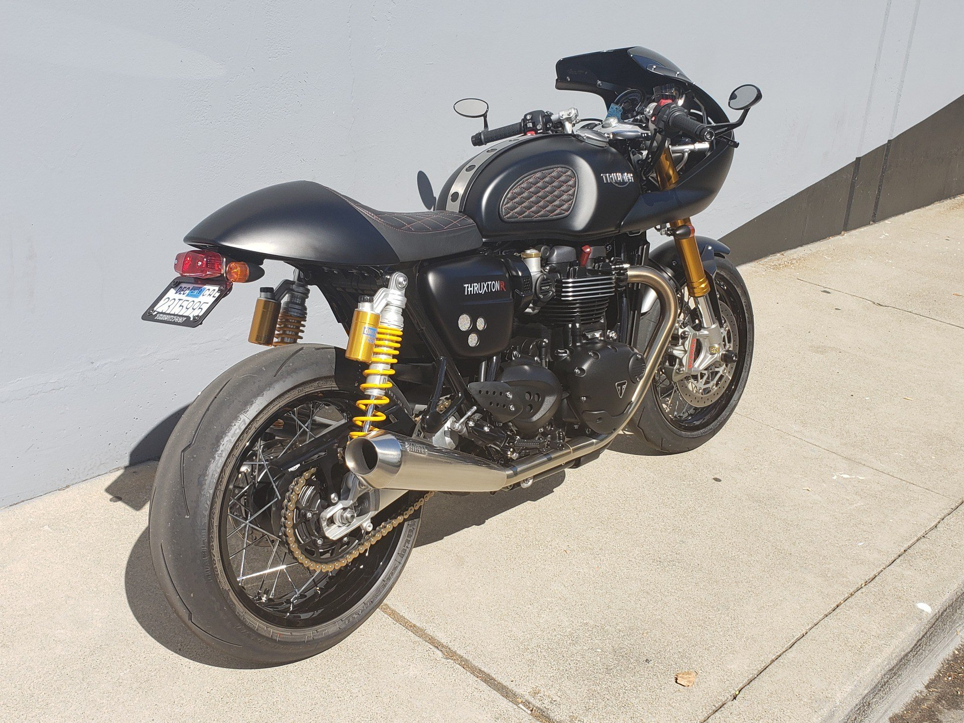 2017 Triumph Thruxton 1200 R in San Jose, California - Photo 11