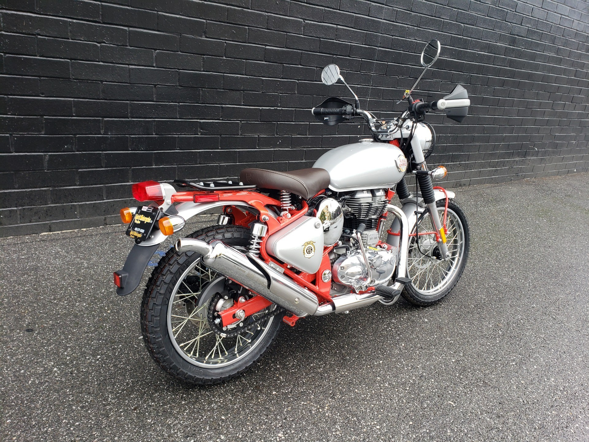 2020 Royal Enfield Bullet Trials Works Replica 500 Limited Edition in San Jose, California - Photo 10