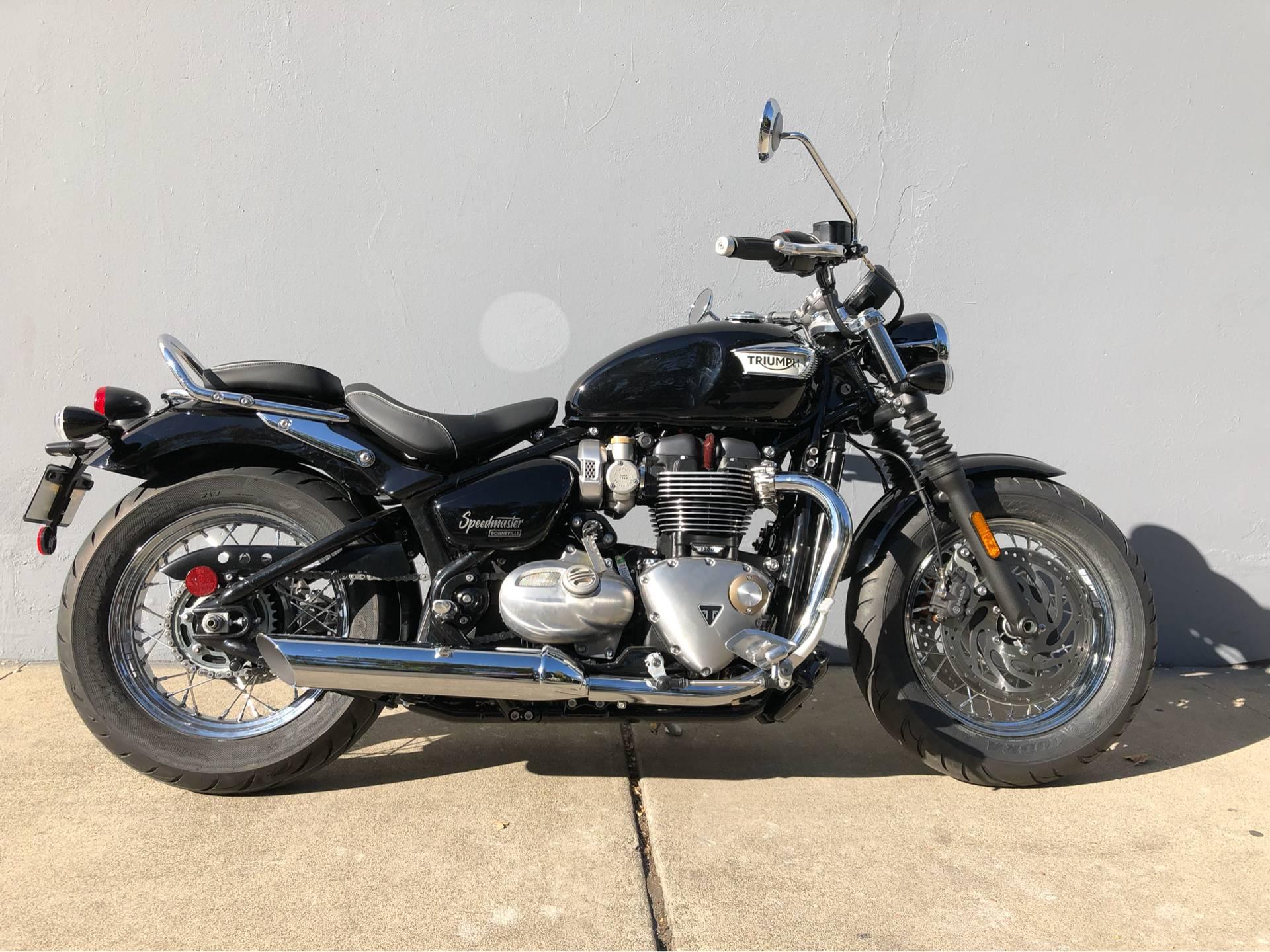 New 2019 Triumph Bonneville Speedmaster Motorcycles In San Jose Ca