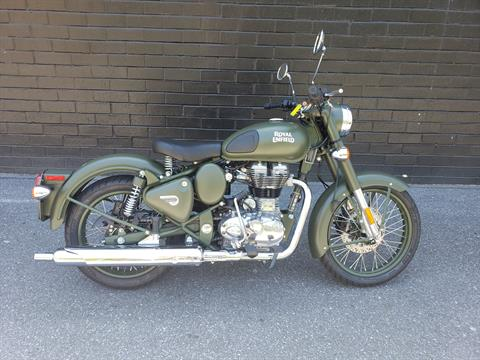2020 Royal Enfield Classic 500 Battle Green in San Jose, California - Photo 1