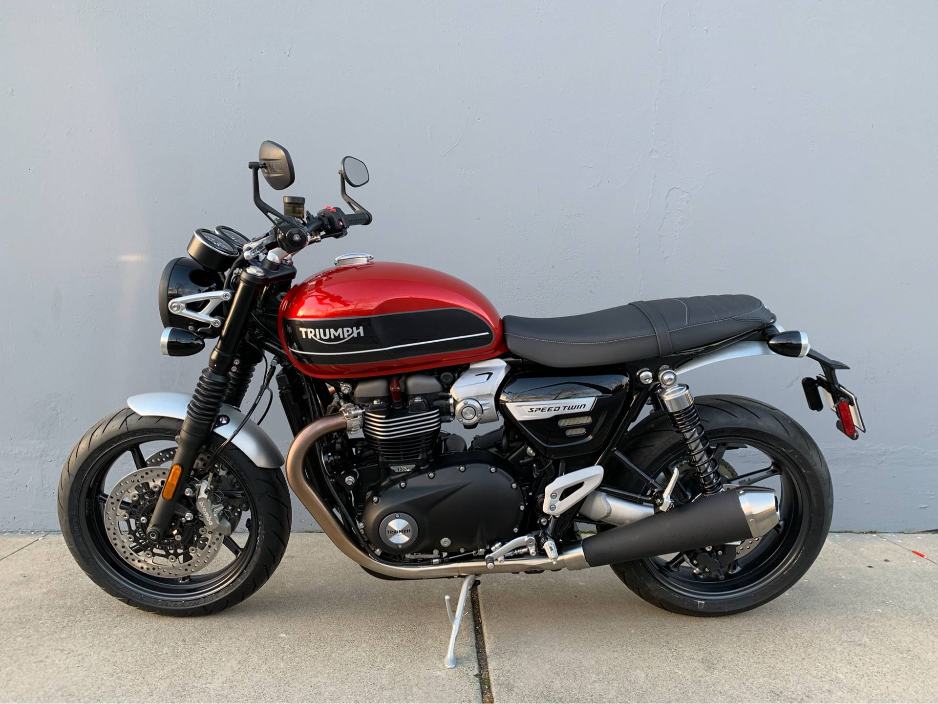 2019 Triumph Bonneville Speed Twin in San Jose, California