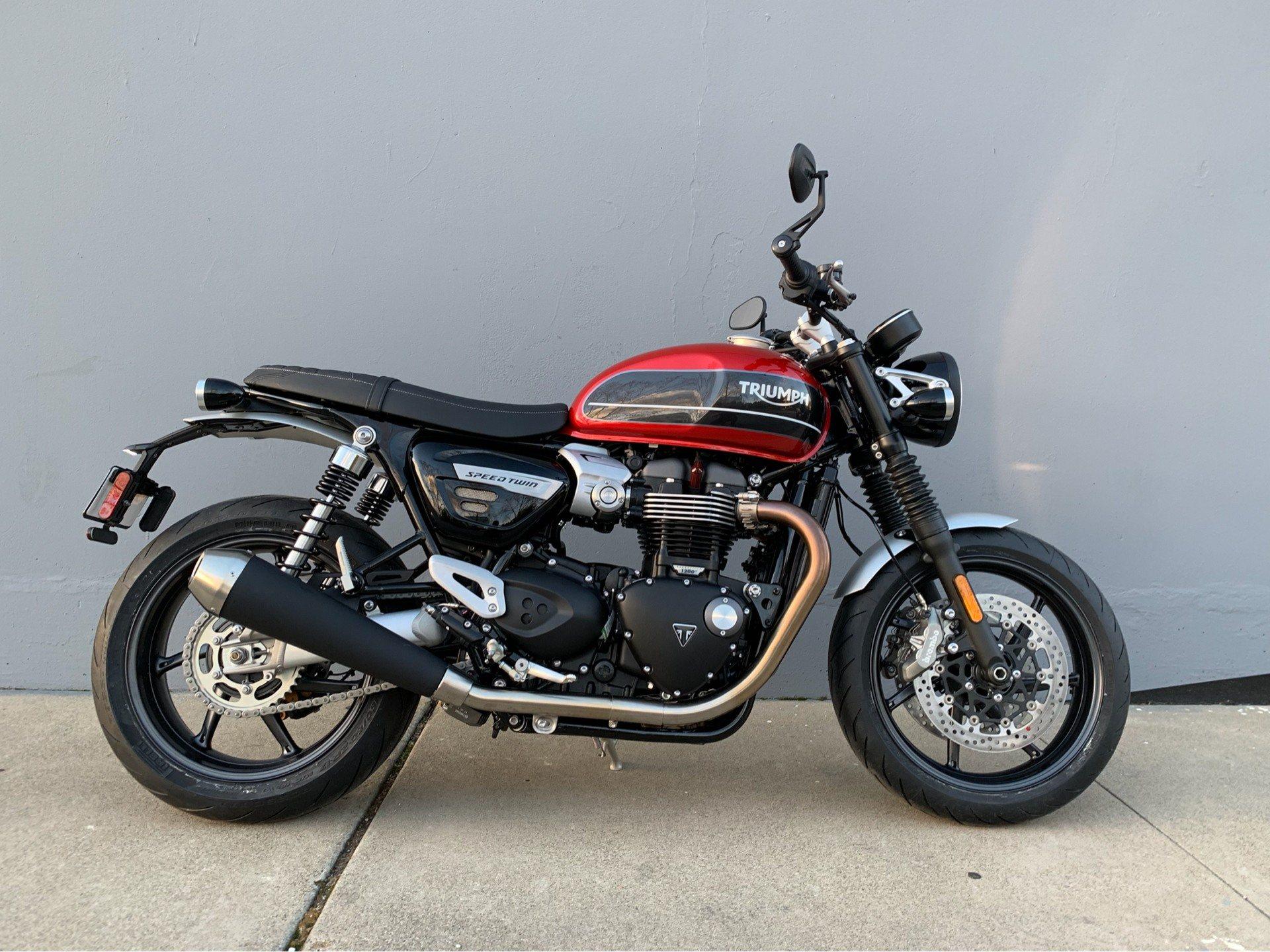New 2019 Triumph Bonneville Speed Twin Motorcycles In San