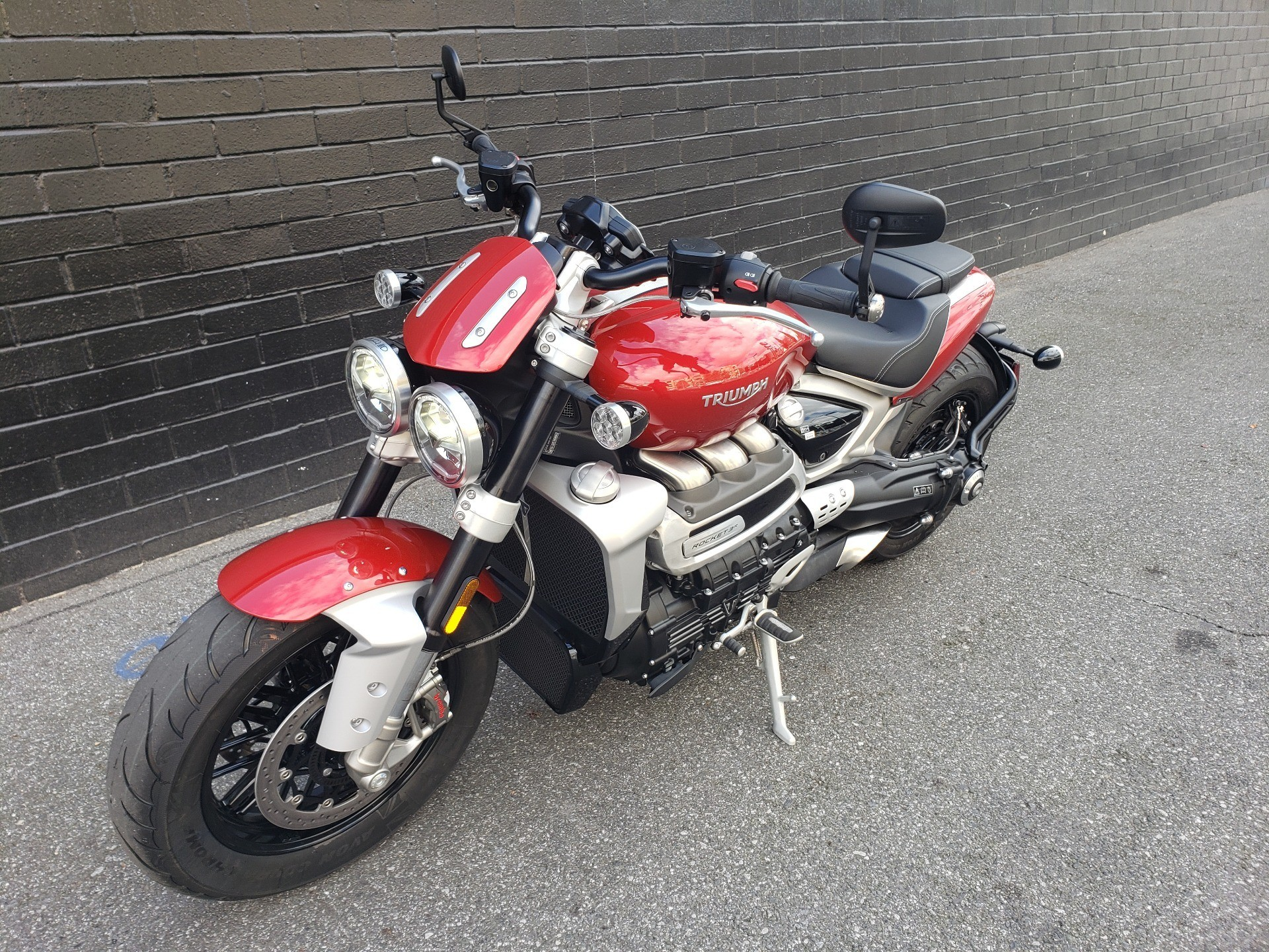 2020 Triumph Rocket 3 R in San Jose, California - Photo 12