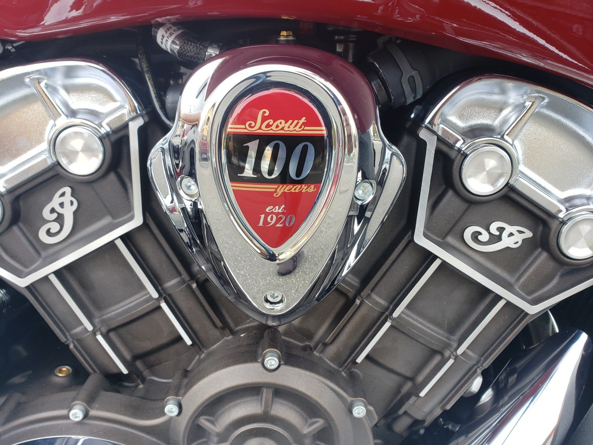 2020 Indian Scout® 100th Anniversary in San Jose, California - Photo 7