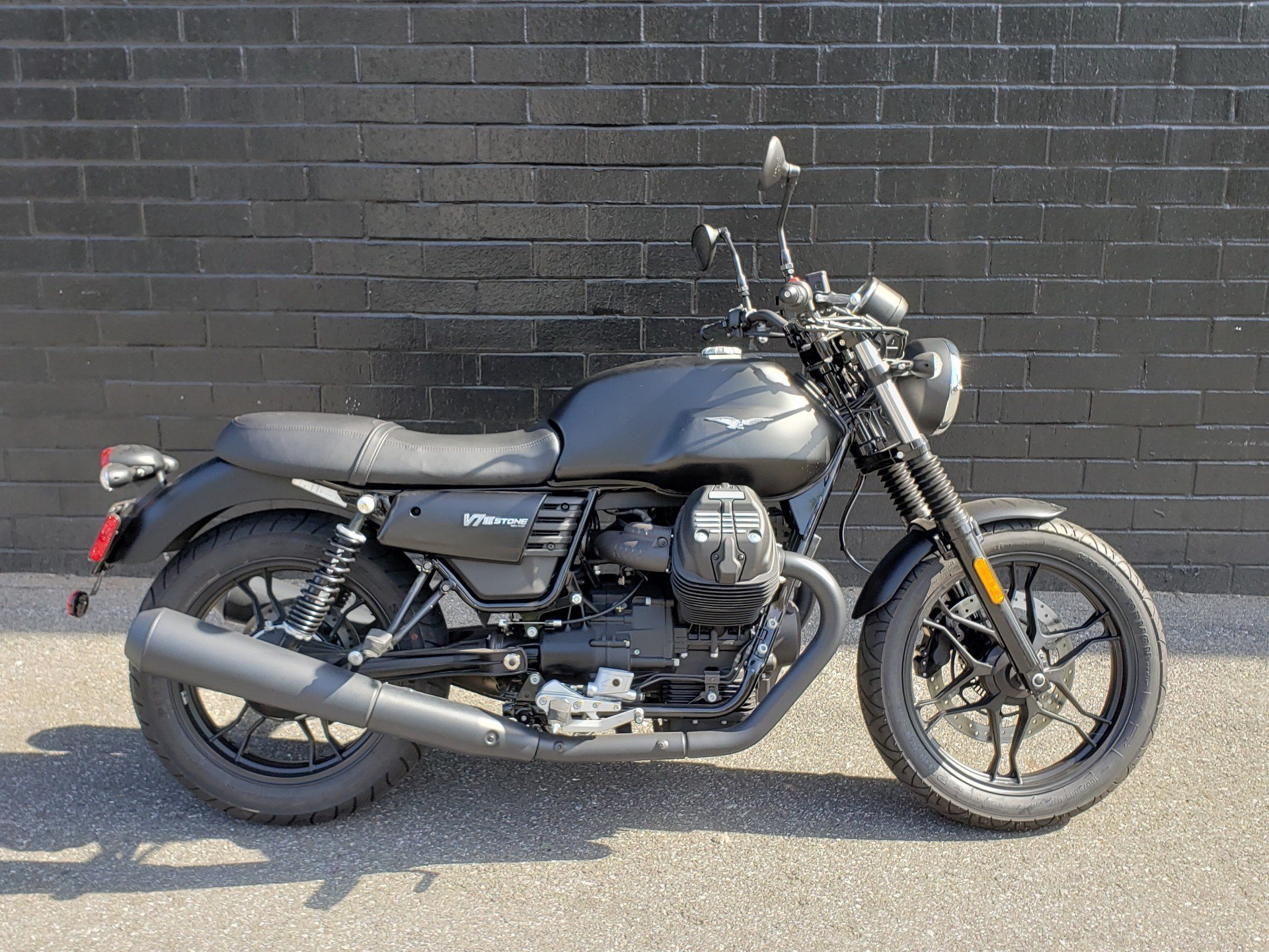 2019 Moto Guzzi V7III STONE in San Jose, California - Photo 1