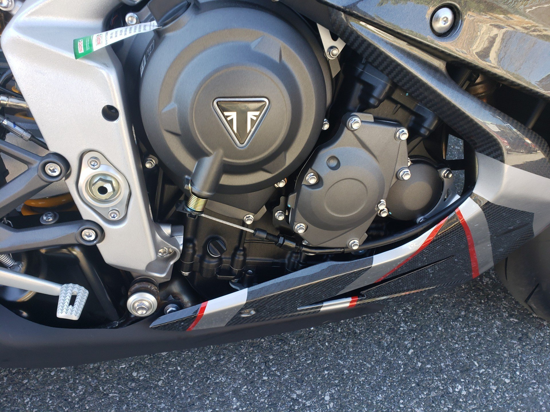 2020 Triumph Daytona Moto2 765 Limited Edition in San Jose, California - Photo 9