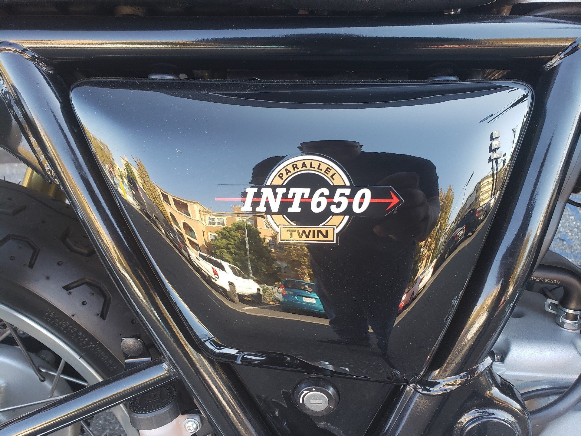 2019 Royal Enfield INT650 in San Jose, California - Photo 7