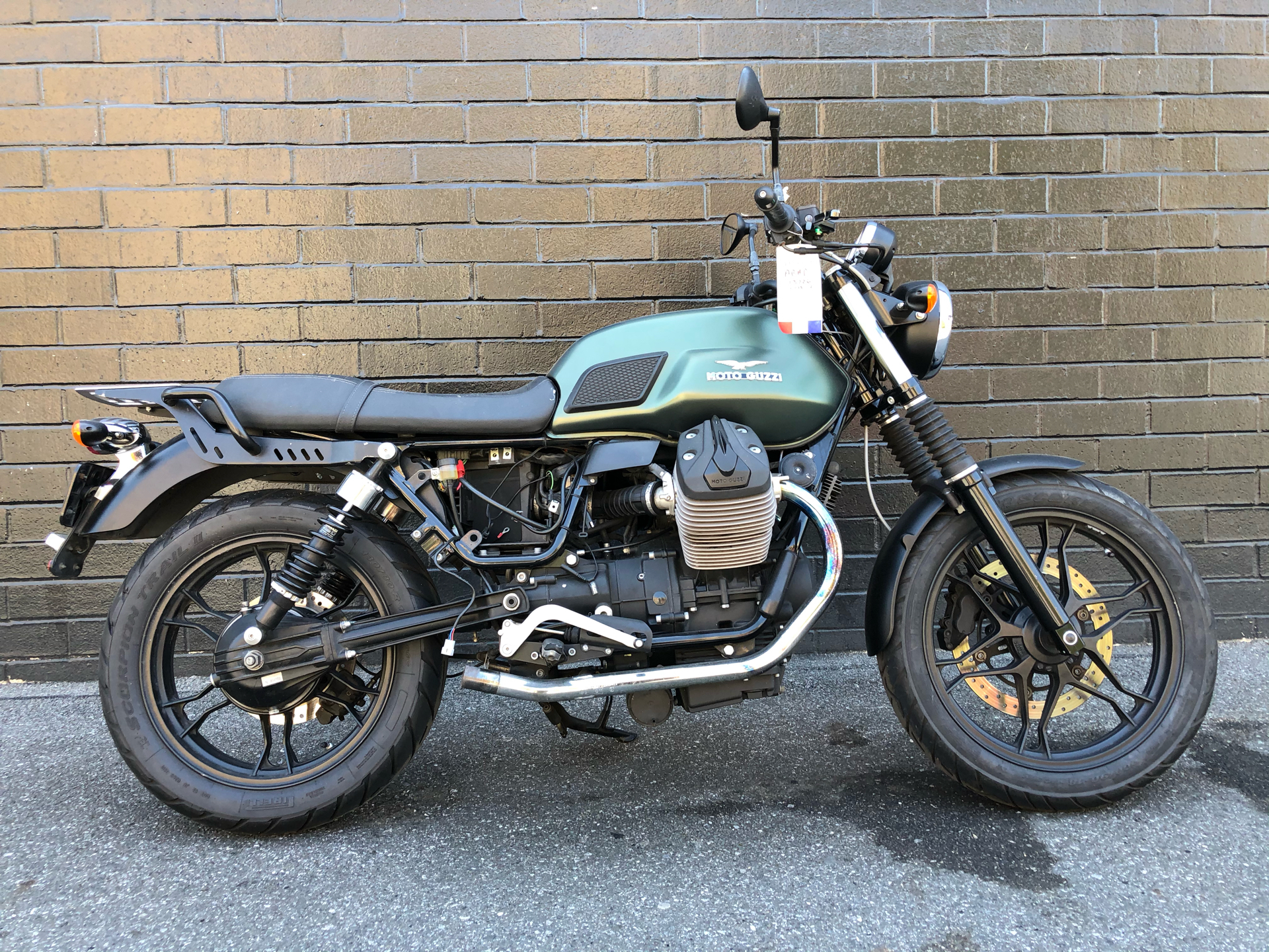 2015 Moto Guzzi V7 Stone in San Jose, California - Photo 1