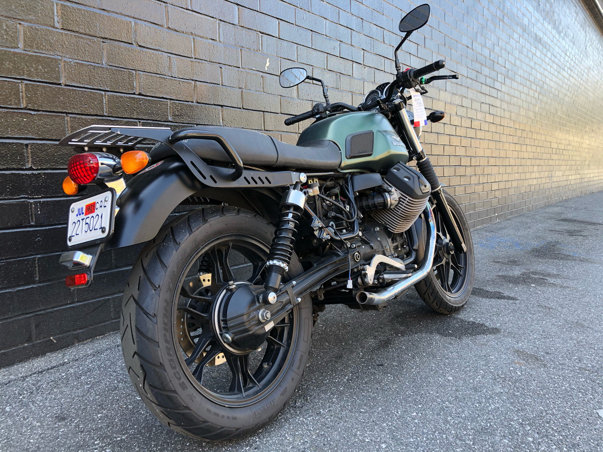 2015 Moto Guzzi V7 Stone in San Jose, California - Photo 3