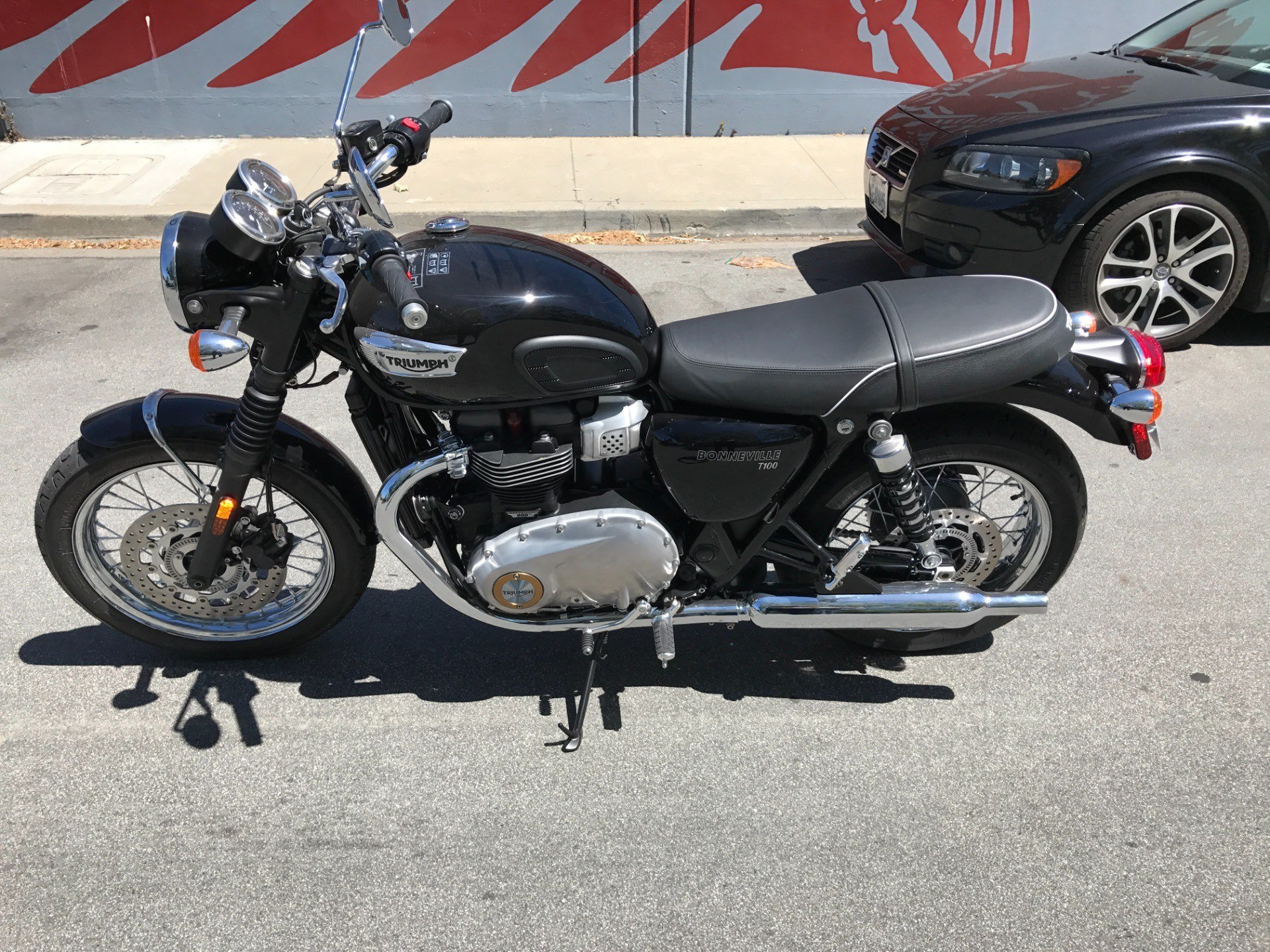 2017 Triumph Bonneville T100 in San Jose, California
