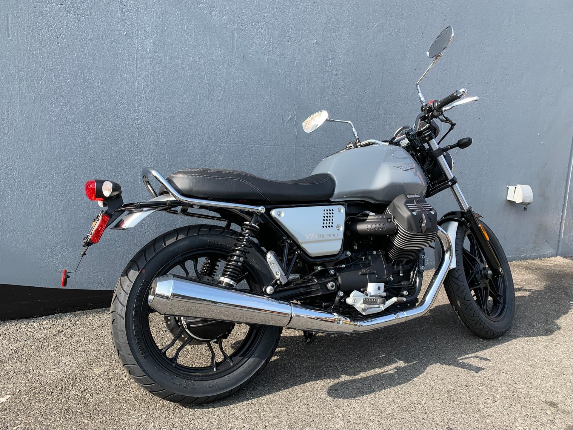 New 2018 Moto Guzzi V7 Iii Milano Motorcycles In San Jose Ca