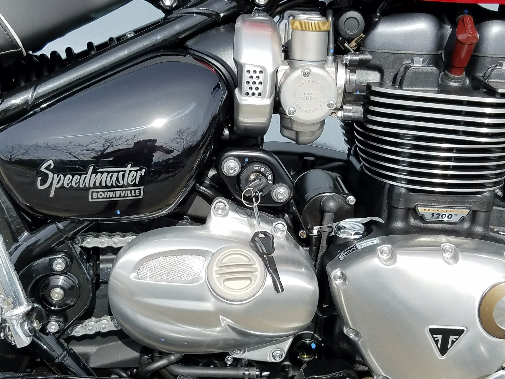 2018 Triumph Bonneville Speedmaster in San Jose, California