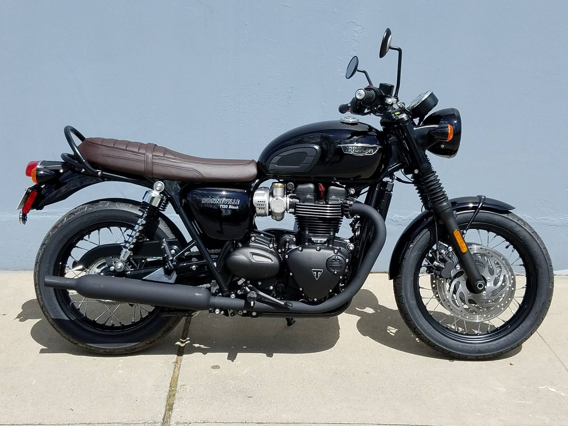 New 2019 Triumph Bonneville T120 Black Motorcycles In San Jose Ca