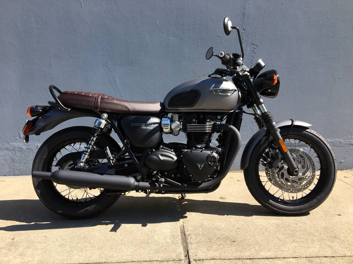 2018 Triumph Bonneville T120 Black in San Jose, California - Photo 1