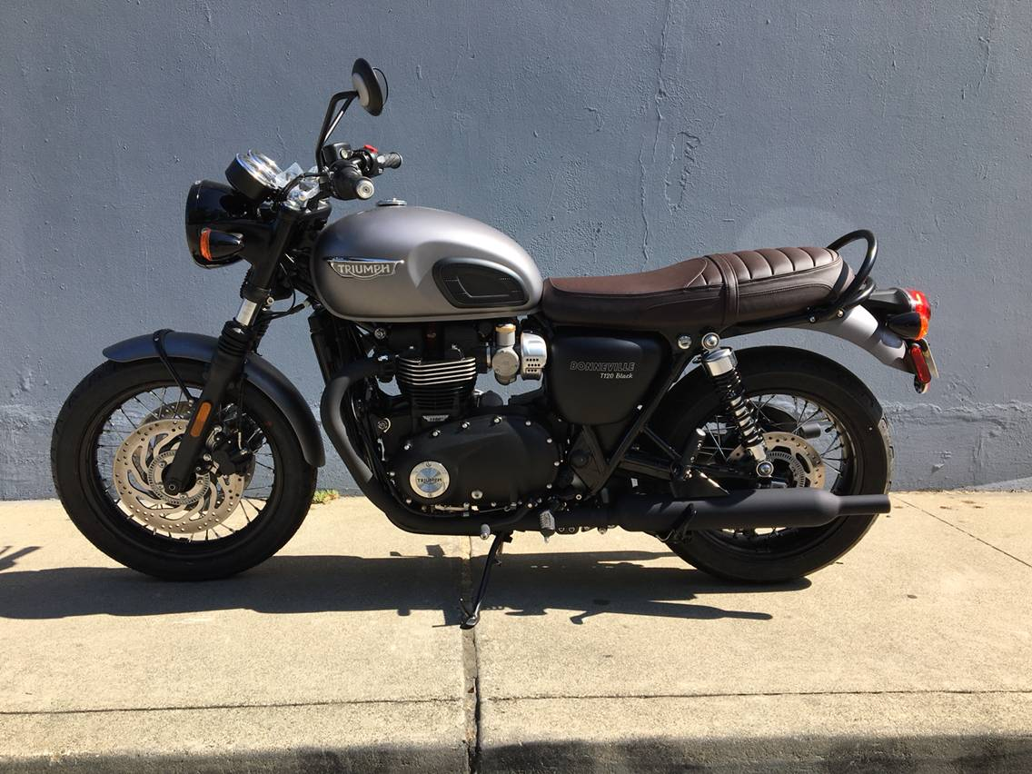 2018 Triumph Bonneville T120 Black in San Jose, California - Photo 2