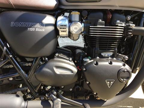2018 Triumph Bonneville T120 Black in San Jose, California - Photo 11
