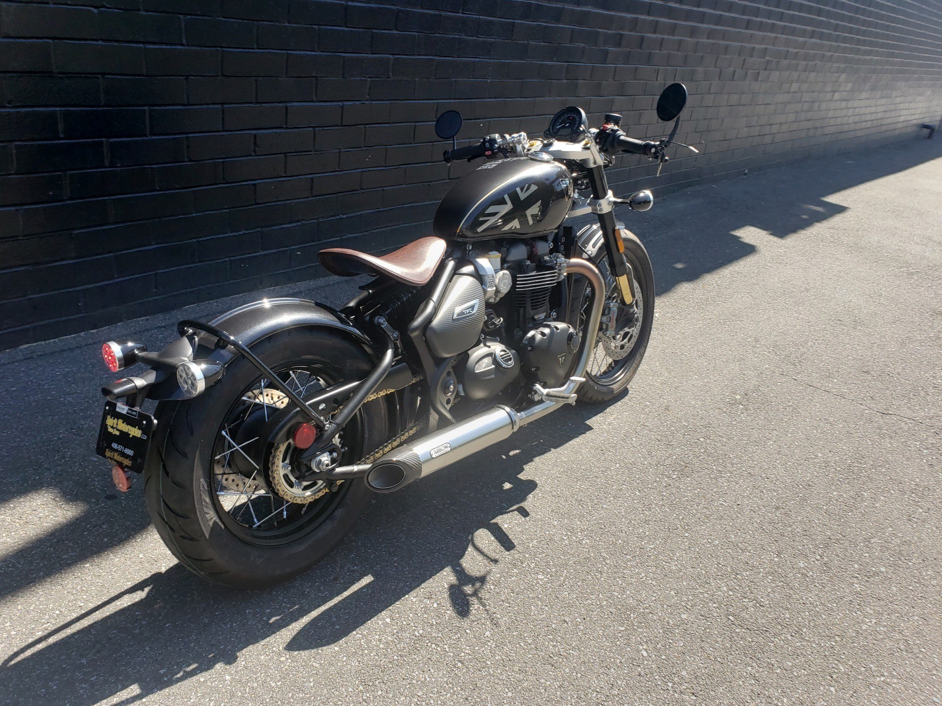2020 Triumph Bobber TFC in San Jose, California - Photo 3