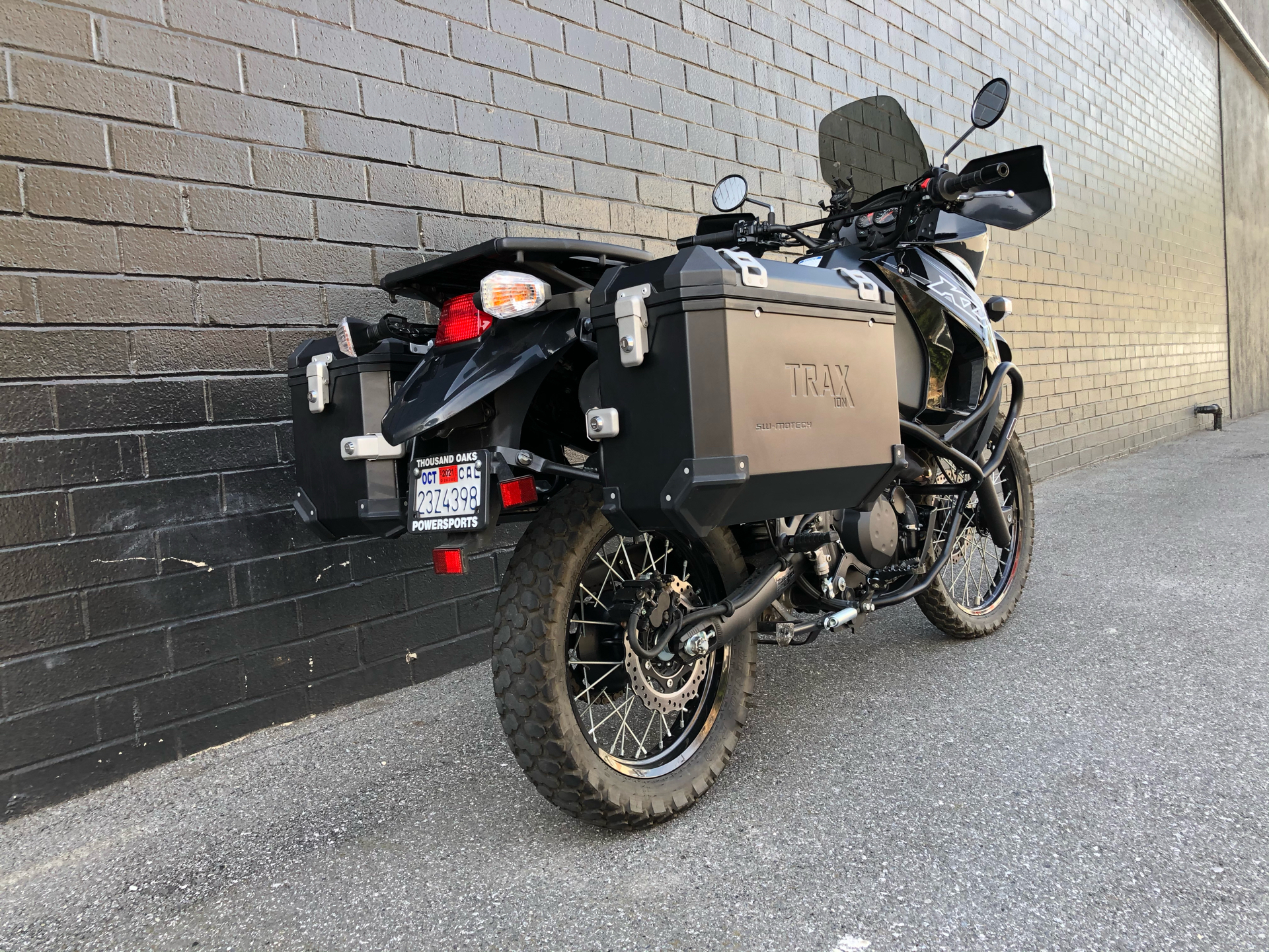 2018 Kawasaki KLR 650 in San Jose, California - Photo 3