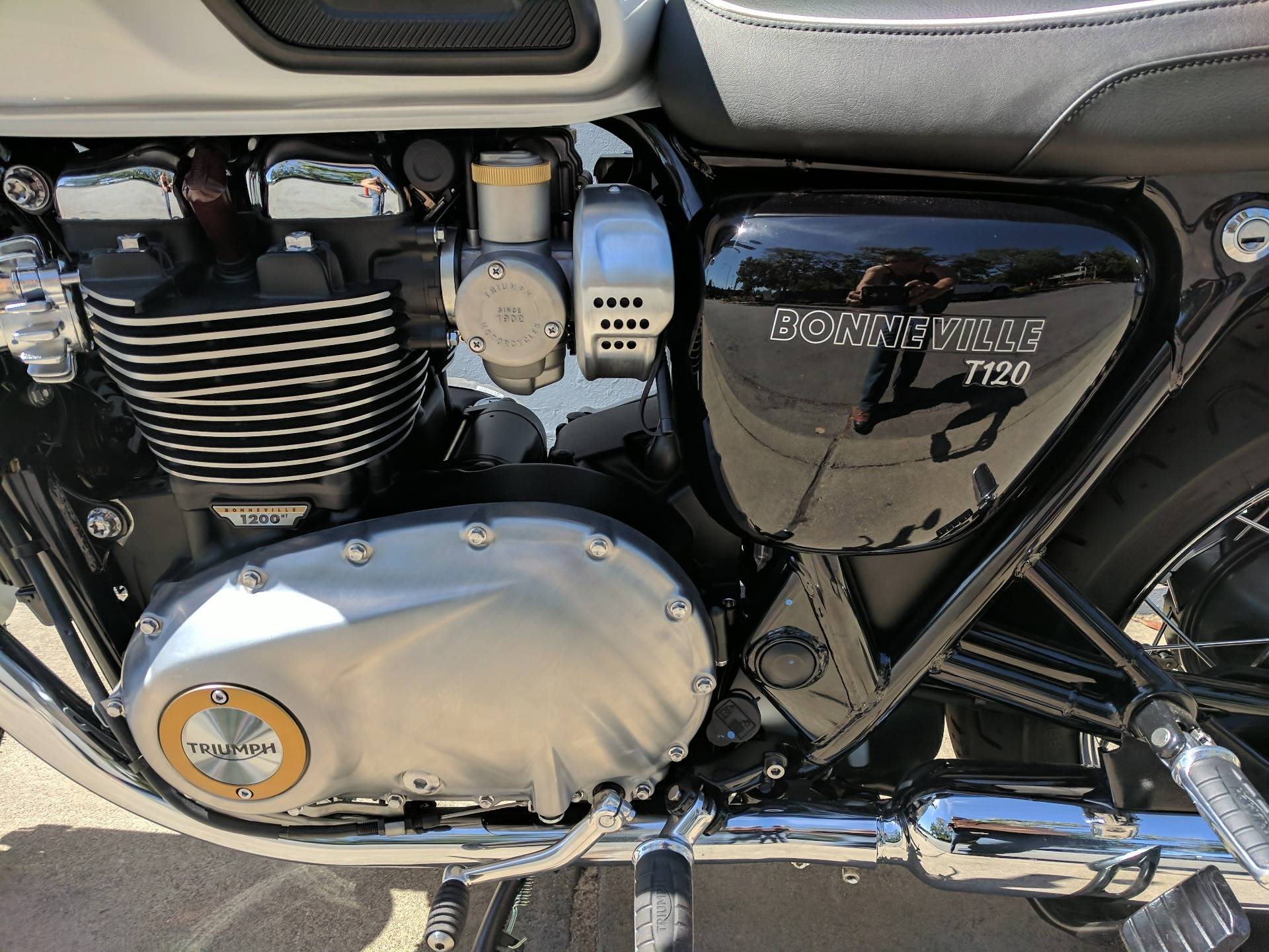 New 2019 Triumph Bonneville T120 Motorcycles In San Jose Ca Stock