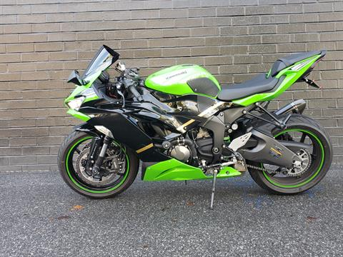 2020 Kawasaki Ninja ZX-6R ABS KRT Edition in San Jose, California - Photo 3