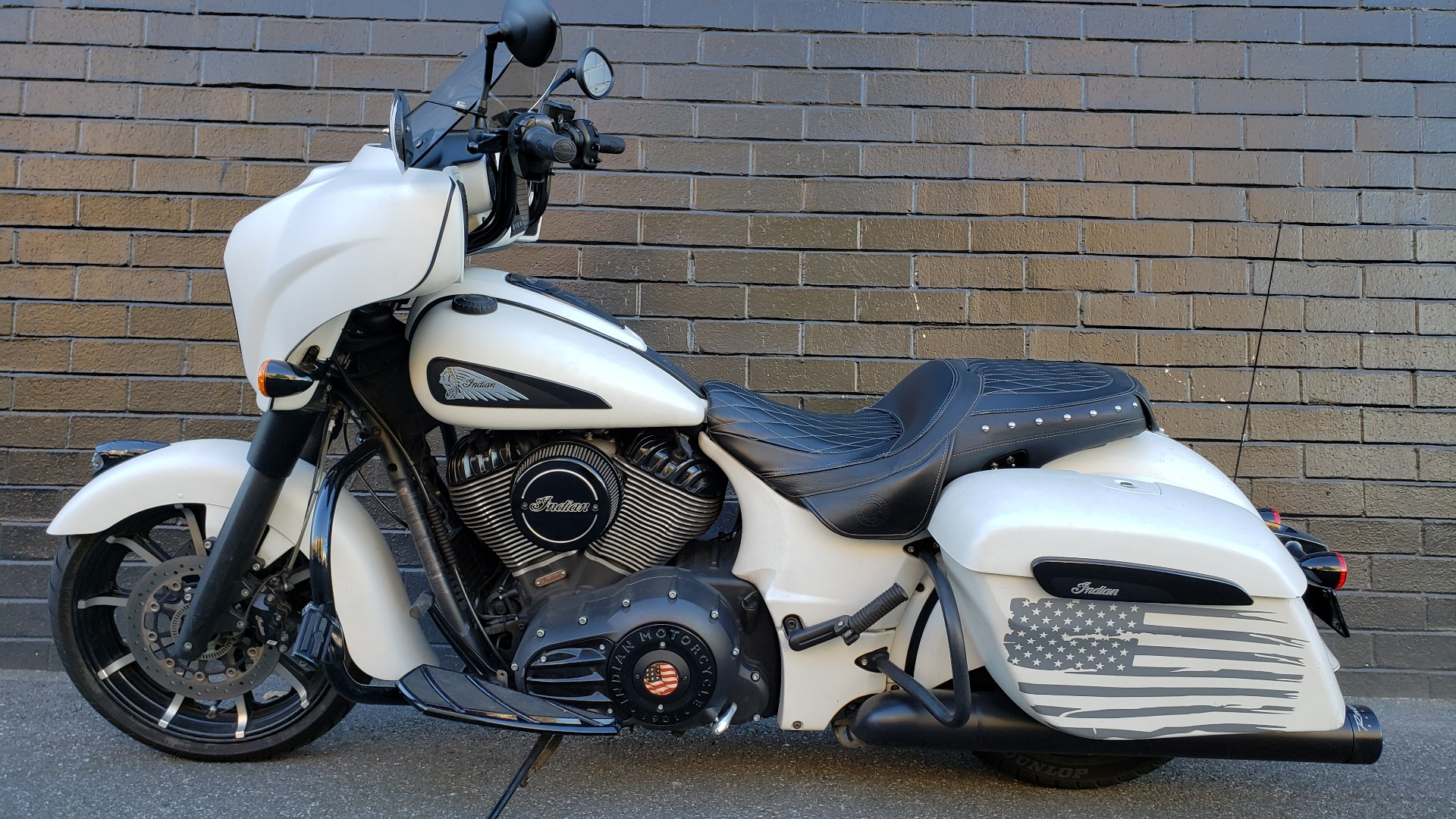 2019 Indian Chieftain® Dark Horse® ABS in San Jose, California - Photo 4
