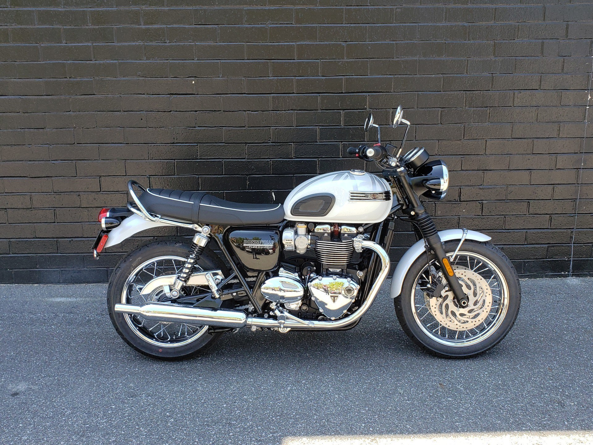 2020 Triumph Bonneville T120 Diamond Edition in San Jose, California - Photo 1