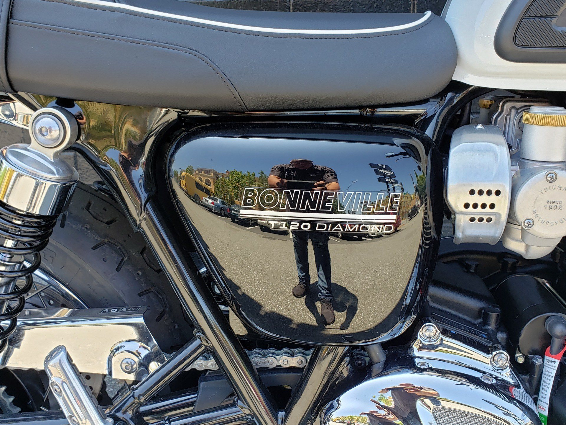2020 Triumph Bonneville T120 Diamond Edition in San Jose, California - Photo 10