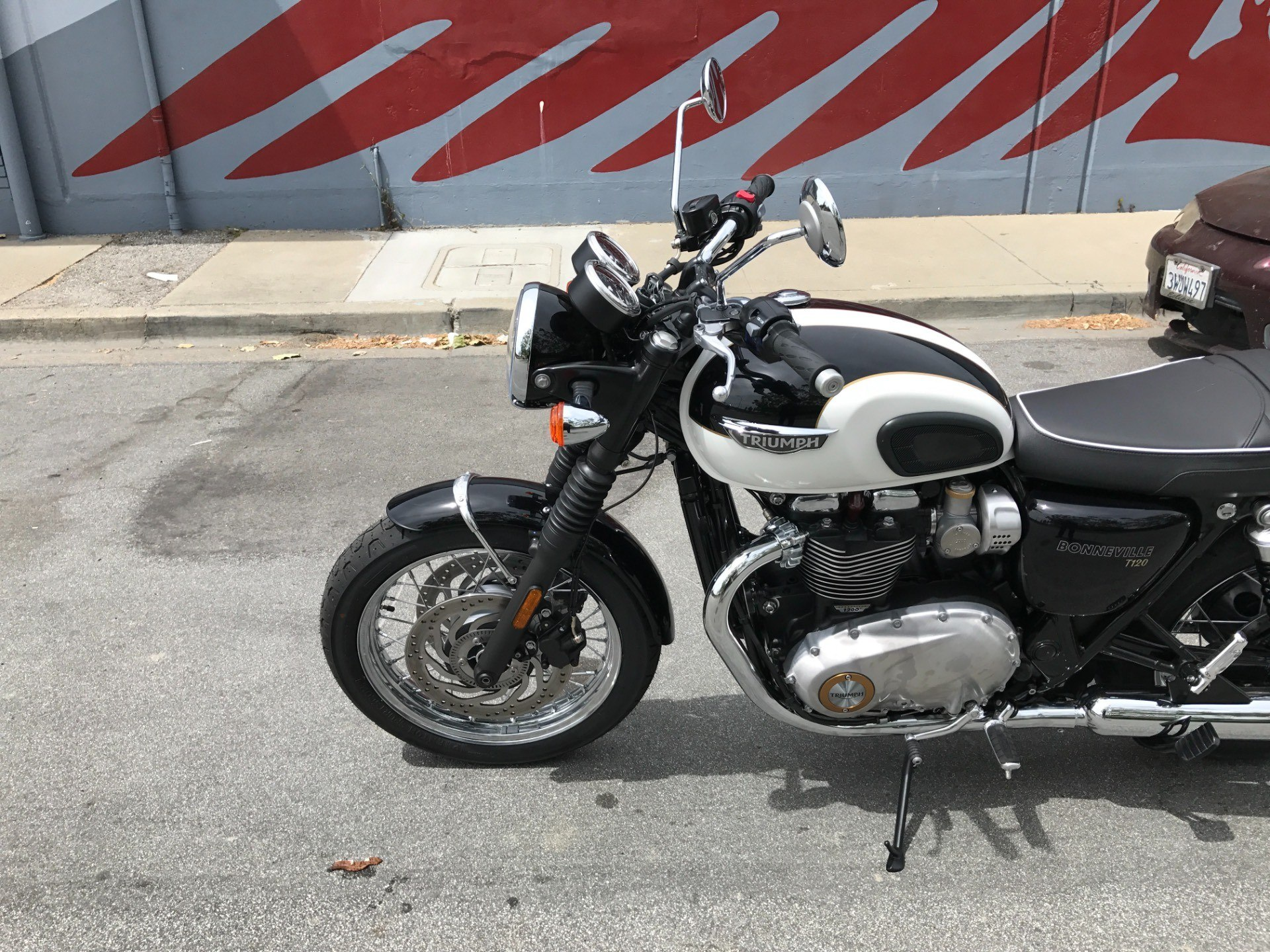 2017 Triumph Bonneville T120 in San Jose, California
