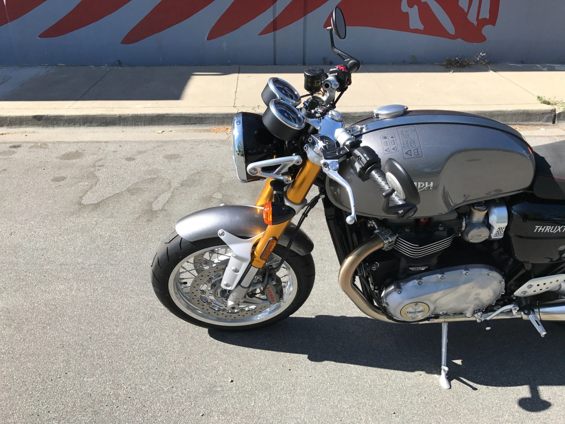 2017 Triumph Thruxton 1200 R in San Jose, California