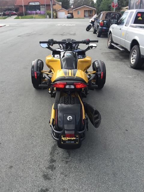 2017 Can-Am Spyder F3-S Daytona 500 SE6 in San Jose, California
