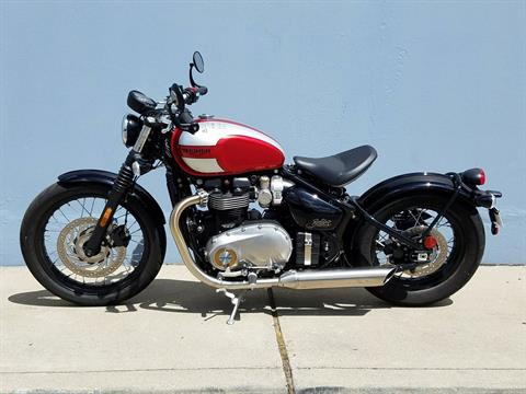 2019 Triumph Bonneville Bobber in San Jose, California - Photo 9