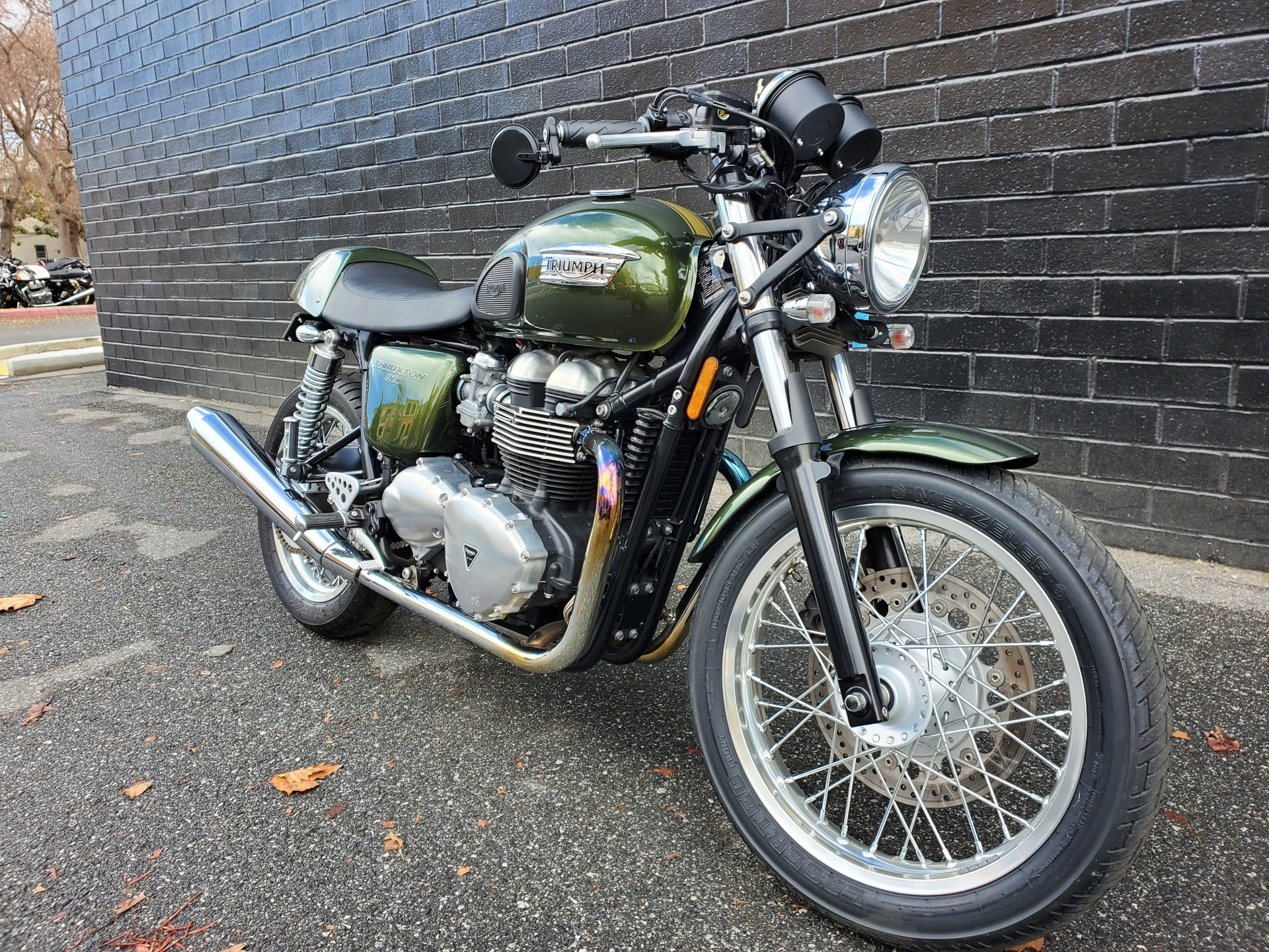 2013 Triumph Thruxton in San Jose, California - Photo 3