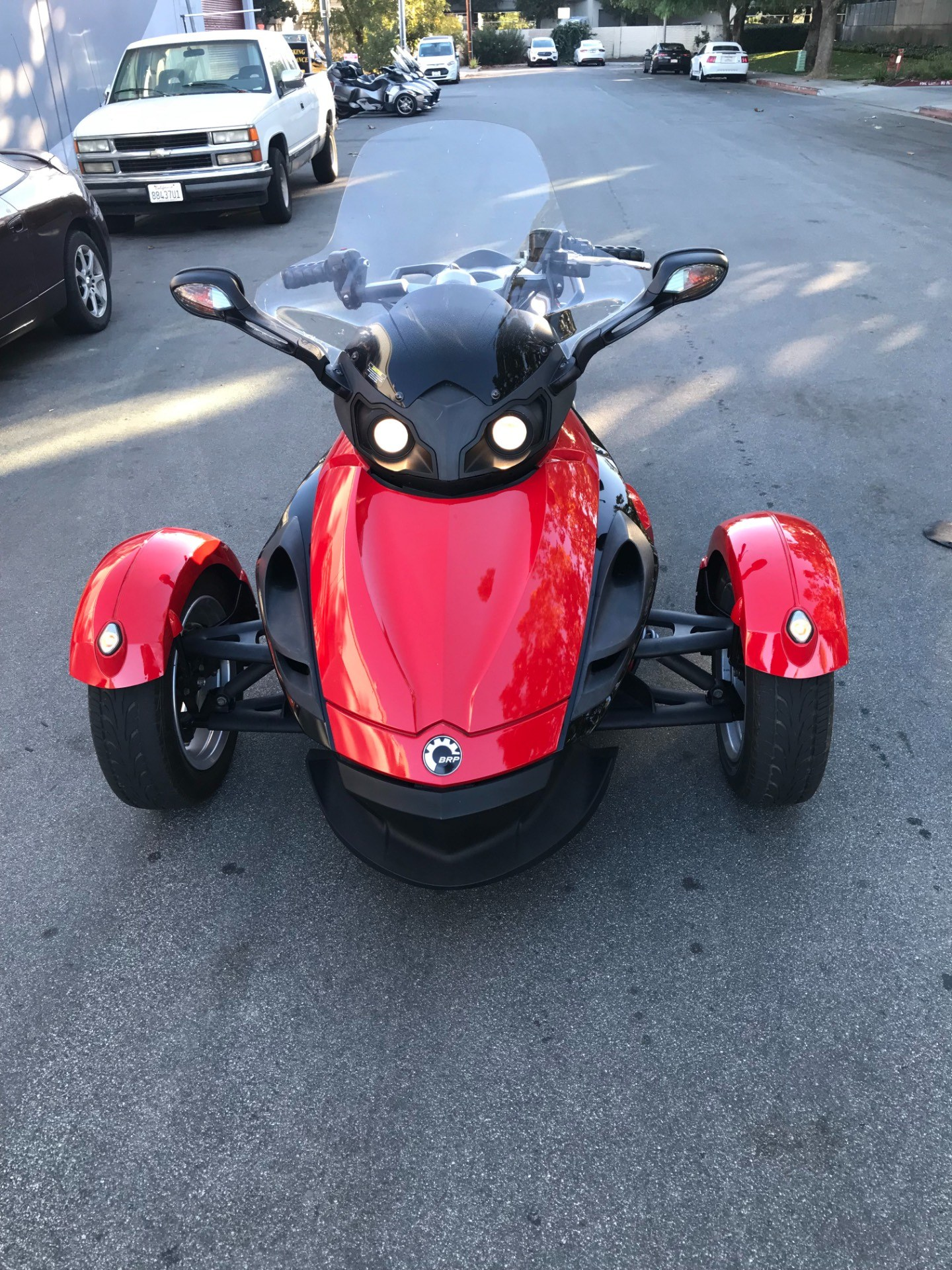 2009 Can-Am Spyder™ GS Roadster with SM5 Transmission (manual) in San Jose, California