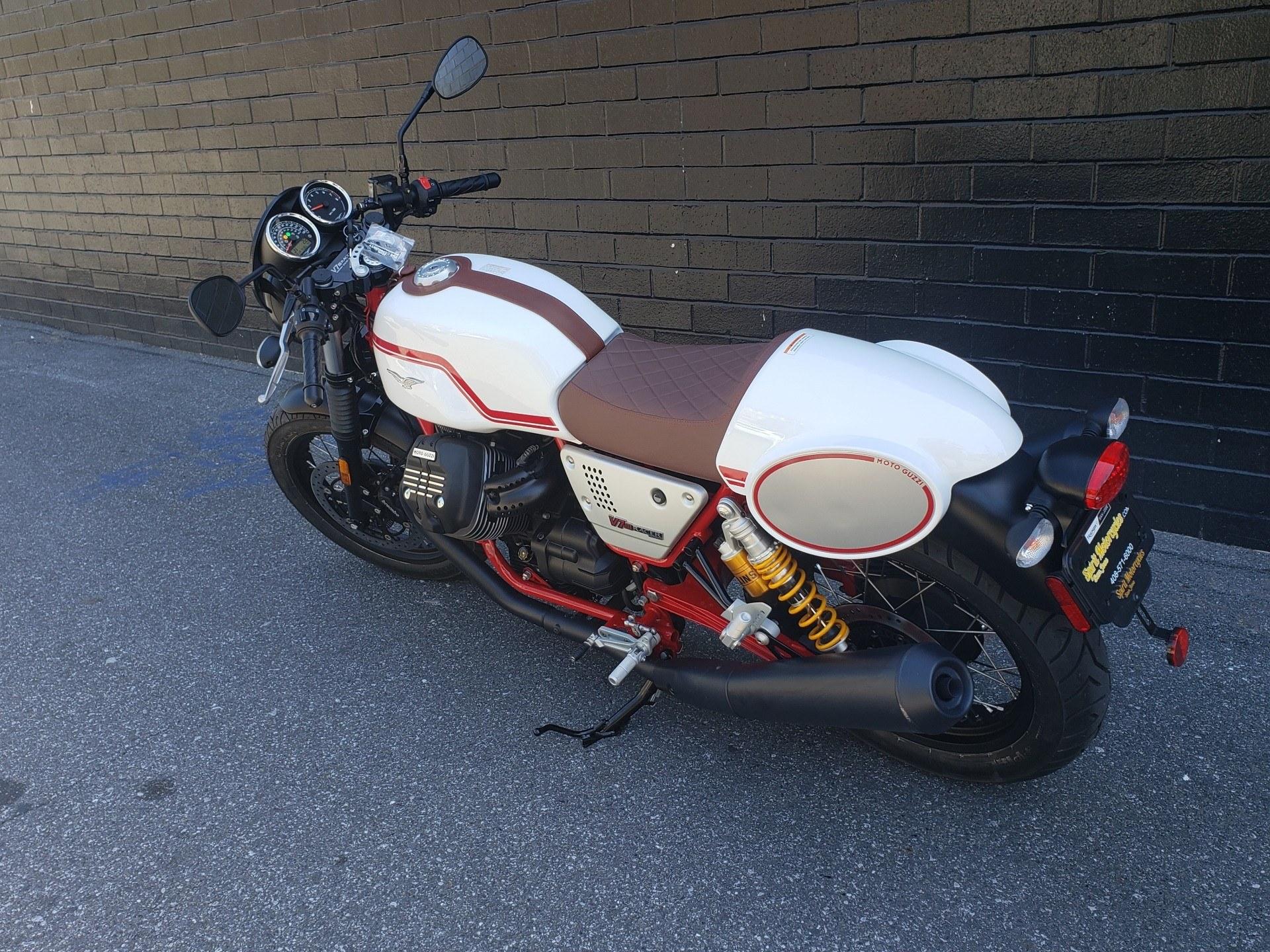 2020 Moto Guzzi V7 III Racer LE in San Jose, California