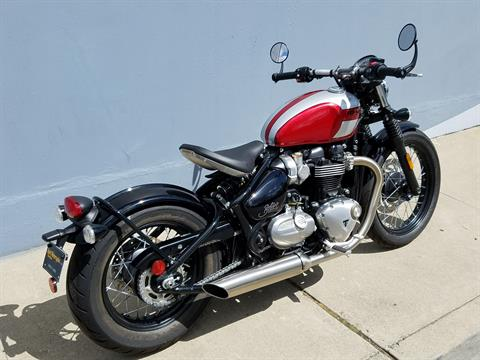 2018 Triumph Bonneville Bobber in San Jose, California