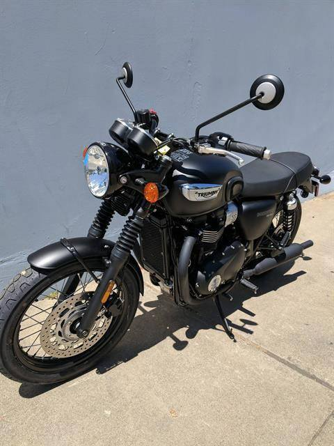 2019 Triumph Bonneville T100 Black in San Jose, California - Photo 3