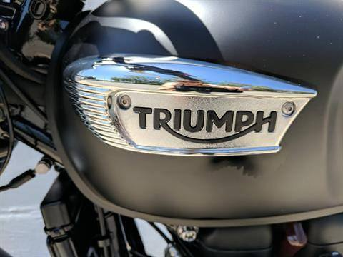 2019 Triumph Bonneville T100 Black in San Jose, California - Photo 10