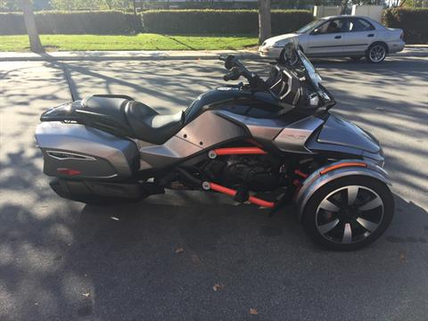 2016 Can-Am Spyder F3-T SE6 w/ Audio System in San Jose, California