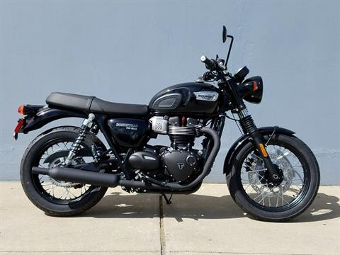 2019 Triumph Bonneville T100 Black in San Jose, California - Photo 1