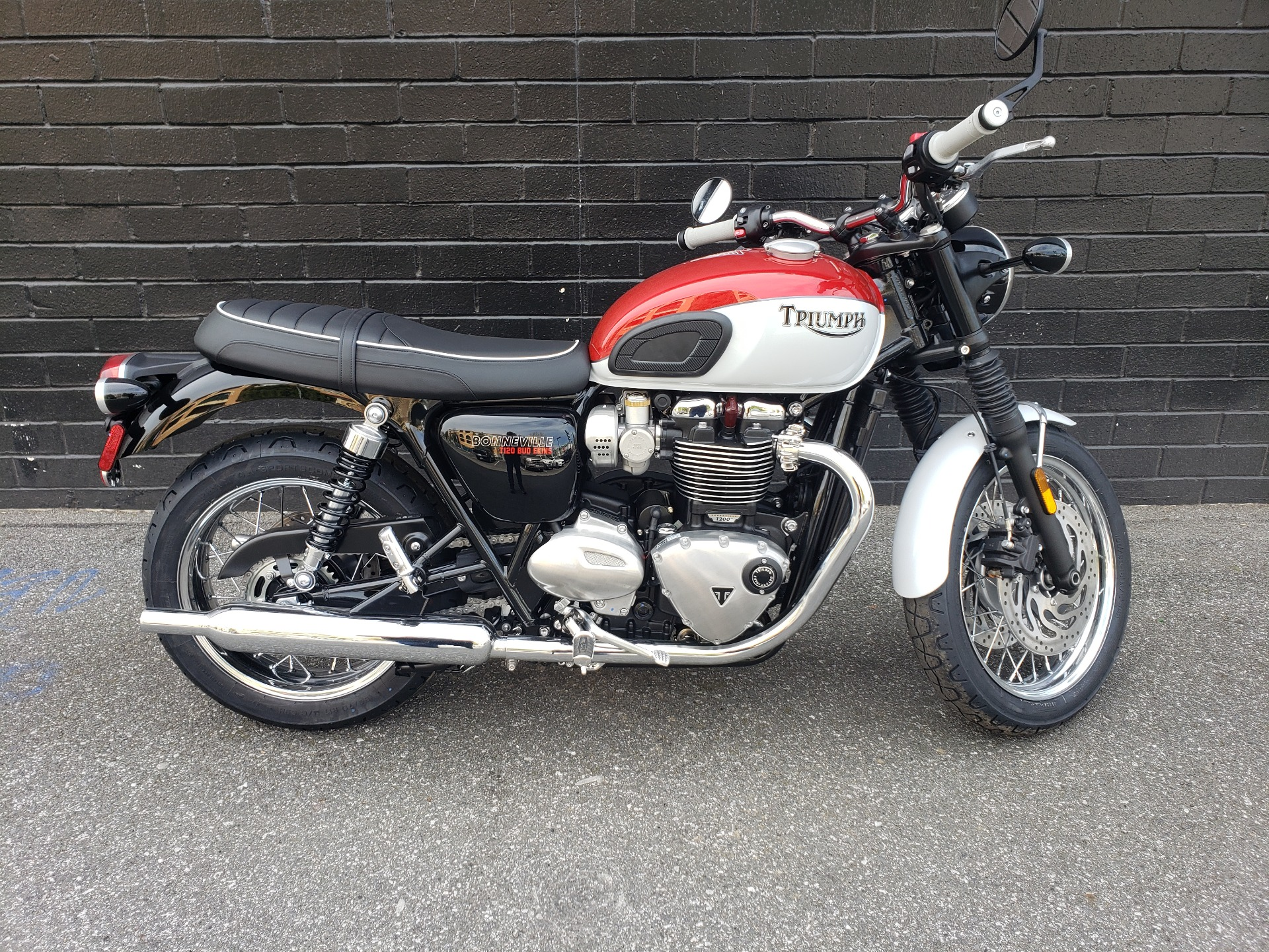 2020 Triumph Bud Ekins T120 in San Jose, California - Photo 1