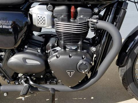 2018 Triumph Bonneville T100 Black in San Jose, California