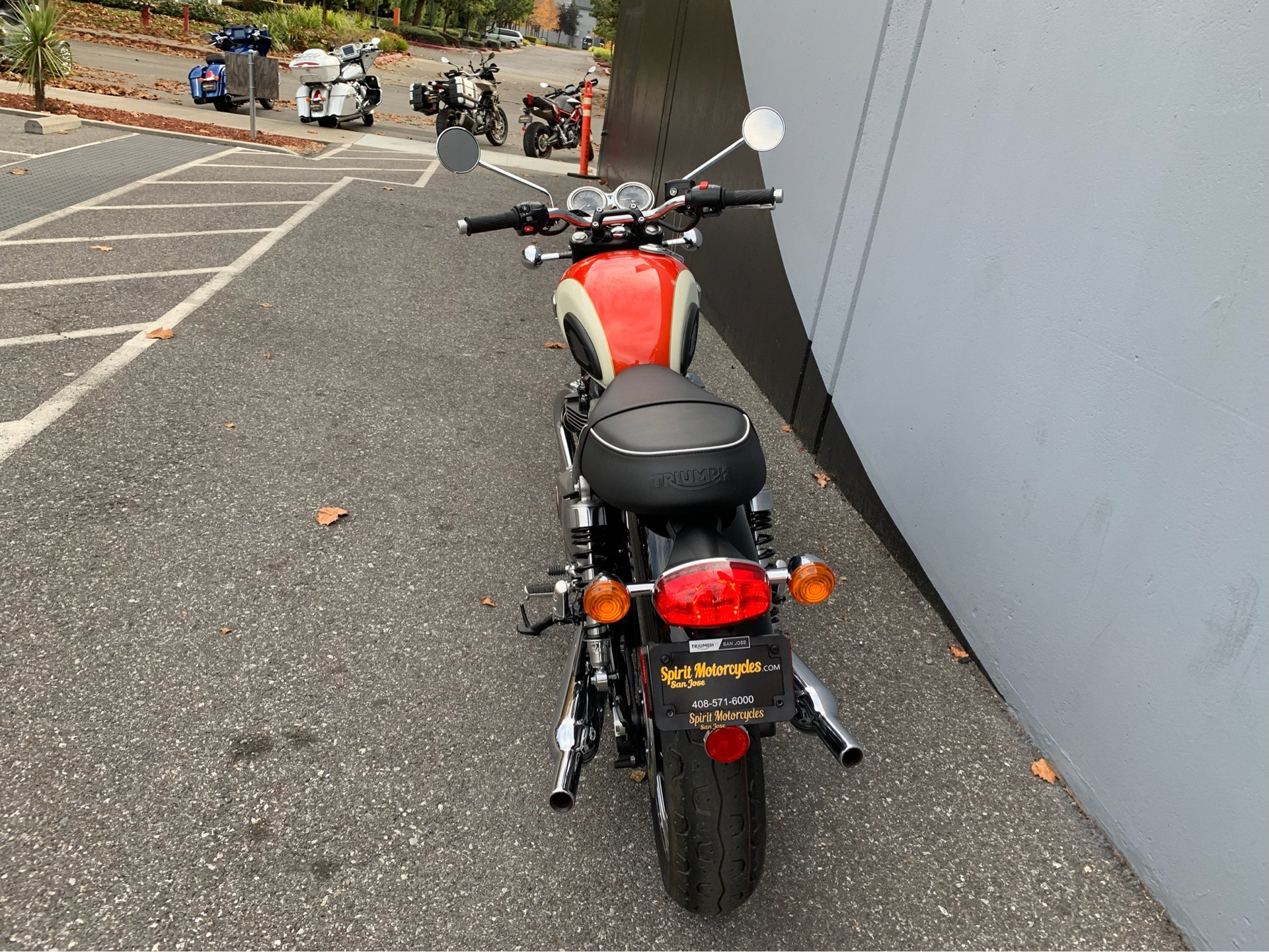 2019 Triumph Bonneville T100 in San Jose, California - Photo 5