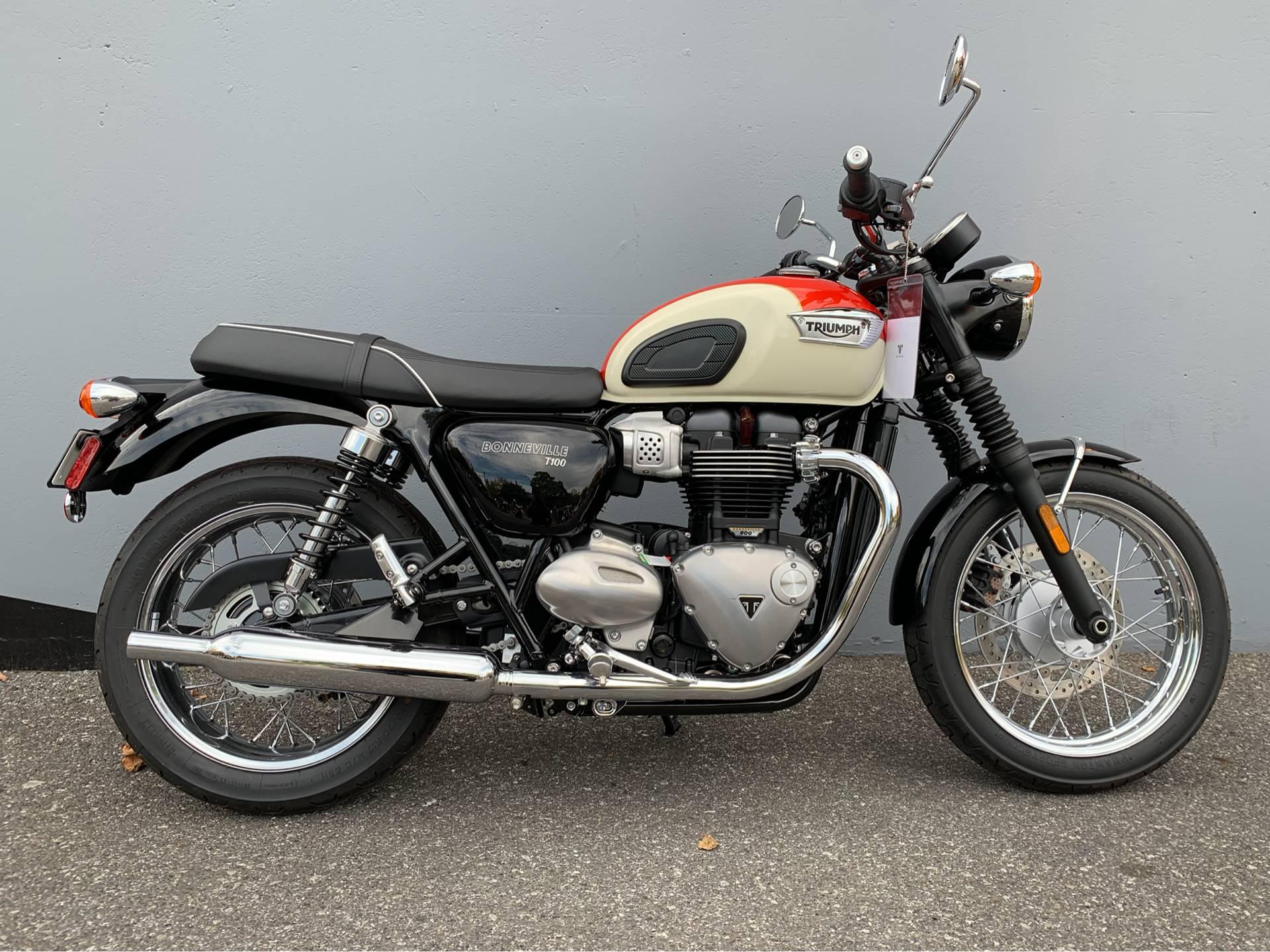New 2019 Triumph Bonneville T100 Motorcycles In San Jose Ca Stock