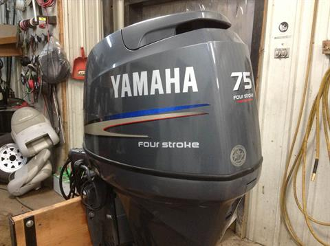 2007 Yamaha F75TLR in Hutchinson, Minnesota