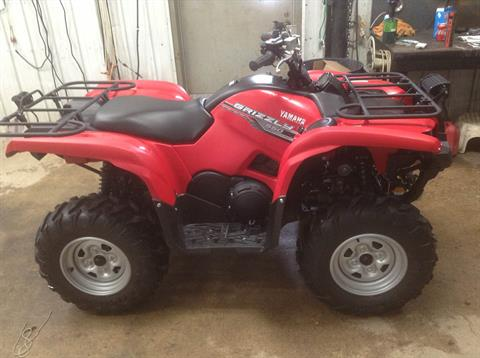 2014 Yamaha Grizzly 550 in Hutchinson, Minnesota