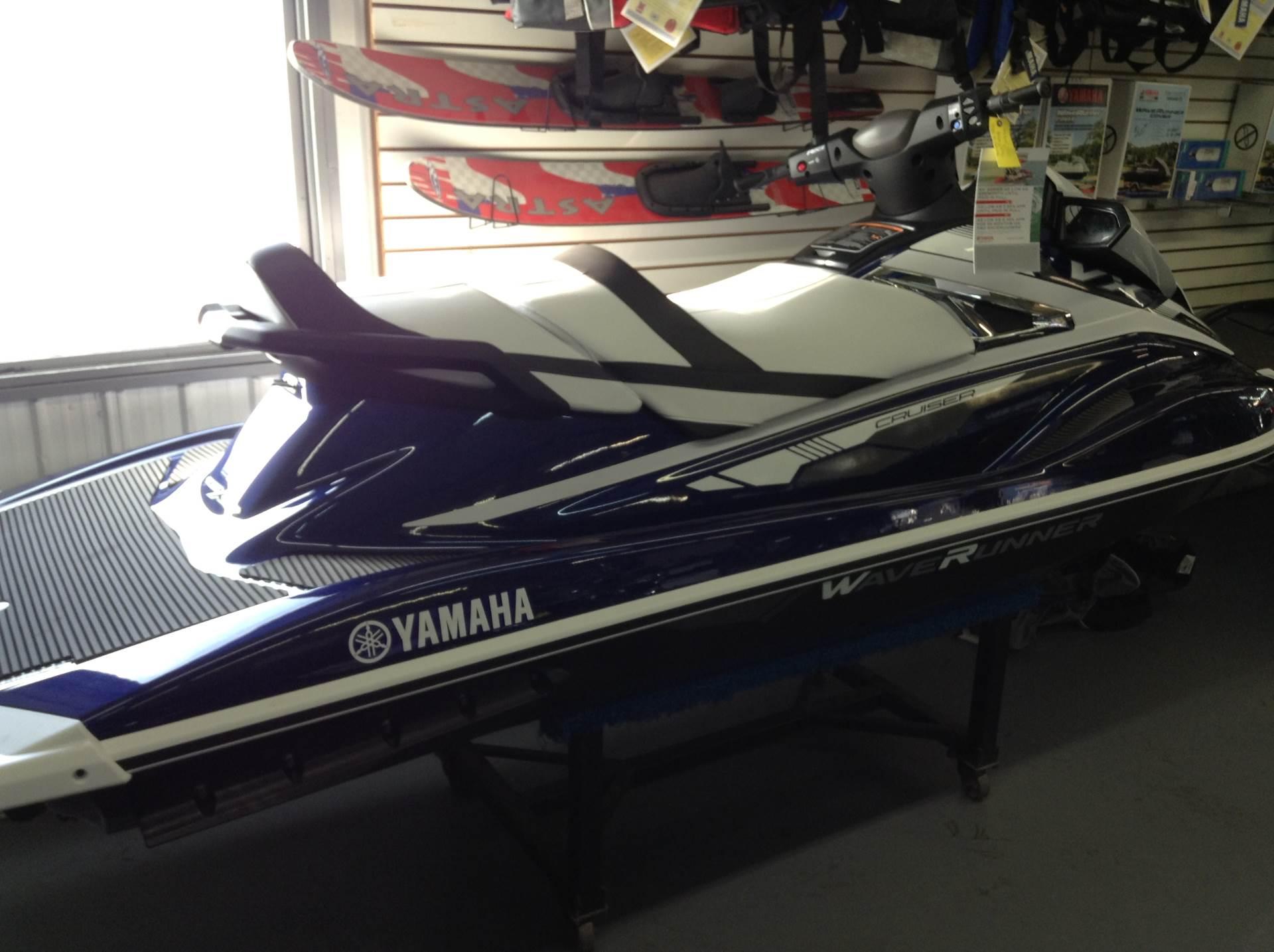 New 2018 Yamaha VX Cruiser Watercraft in Hutchinson MN